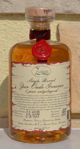 Zuidam, Zeer Oude Genever 5j Single Barrel 38% 0,5ltr