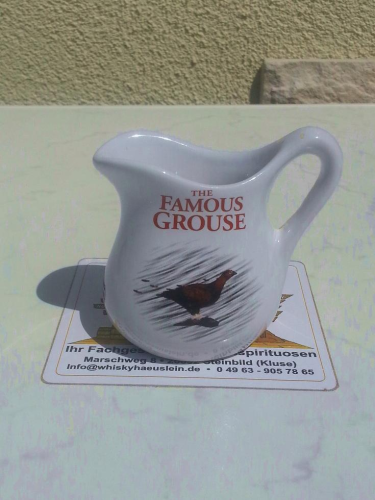 Ceramic WaterJug: Famous Grouse