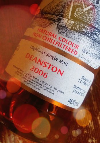 Deanston 2006 - 10 Ultimate Sherrycask 46% 0,7 ltr