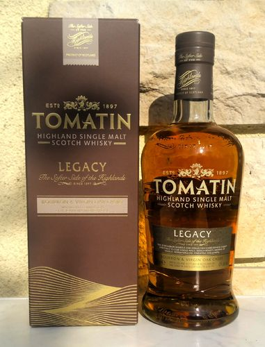 Tomatin Legacy 43% 0,7ltr