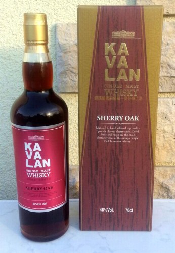 Kavalan ex-Sherry Oak 46% 0,7ltr