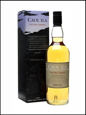 Caol Ila Unpeated Stitchell Reserve Cask Strength 59,6% 0,7ltr