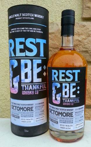 Rest & Be Thankful Whisky Co - Octomore - 66,3% 0,7 ltr