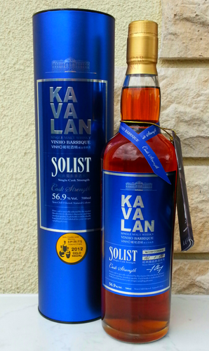 Kavalan Solist Vinho Barrique CS 56,9% 0,7ltr