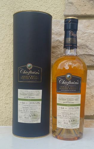 Bowmore 14 Chieftains 2002/16 46% 0,7ltr