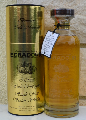 Edradour 2003 Bourbon Matured 10.rel 56,7% 0,7ltr