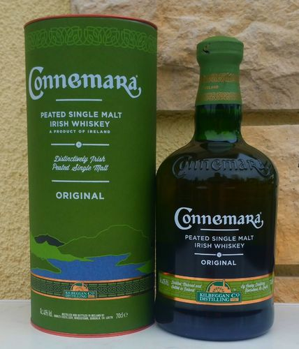 Connemara Peated Single Malt 40% 0,7ltr