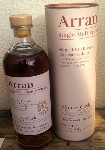 Isle of Arran Sherry Cask 55,8% 0,7ltr