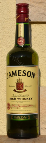 Jameson Irish Whiskey 40% 0,7ltr