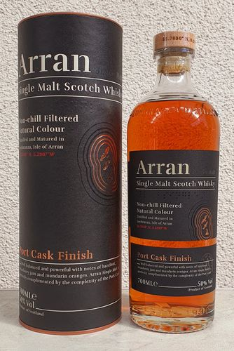 Isle of Arran Port Cask 50% 0,7ltr