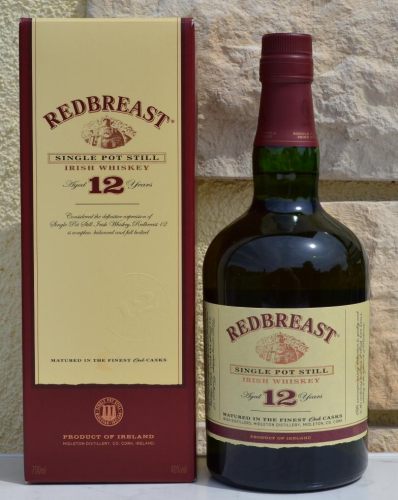 Redbreast 12j Pot Still 40% 0,7ltr