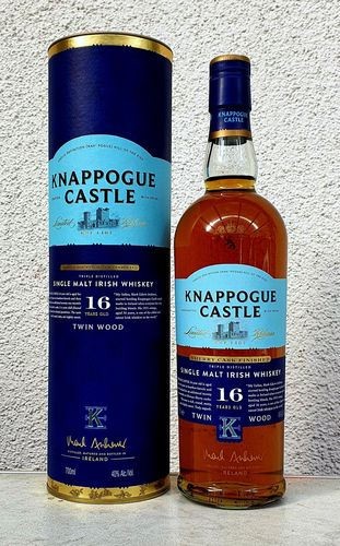 Knappogue Castle 16j TwinWood 43% 0,7ltr
