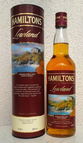 Hamiltons Lowland Single Malt 40% 0,7ltr