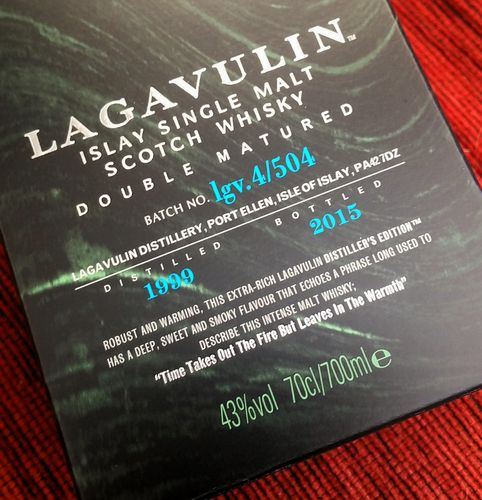 Lagavulin Distillers Edition -2015!!! 43% 0,7ltr