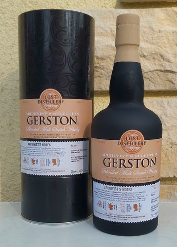 Gerston Archivist - Lost Distillery Company 46% 0,7ltr