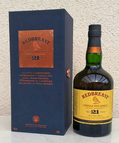 Redbreast 21j Single Pot Still 46% 0,7ltr