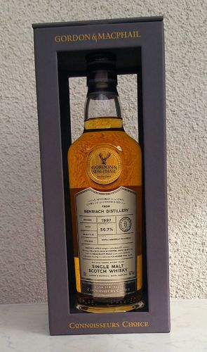 Benriach 20j G&M  56,7% 0,7ltr