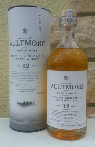 Aultmore 12J  46% 0,7ltr