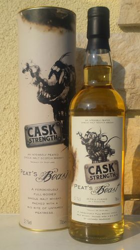 Peat's Beast Cask Strength 52,1% 0,7ltr