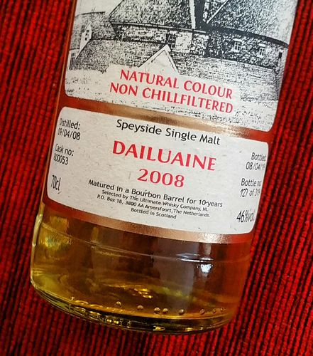 Dailuaine 2008 - 10J Ultimate 46% 0,7ltr