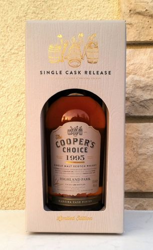 Highland Park ´'95 Madeira - Coopers Choise 46% 0,7ltr
