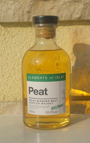 Elements of Islay Peat 59,3% 0,5 ltr