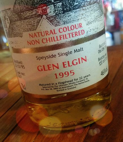 Glen Elgin 1995 Ultimate 46% 0,7ltr