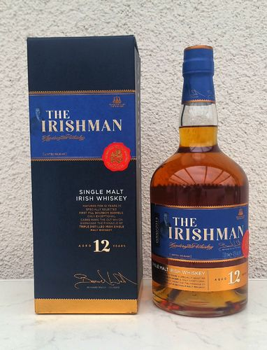 The Irishman Single Malt 12j 43% 0,7ltr