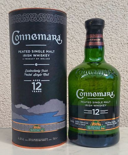 Connemara 12j Peated Single Malt 40% 0,7ltr