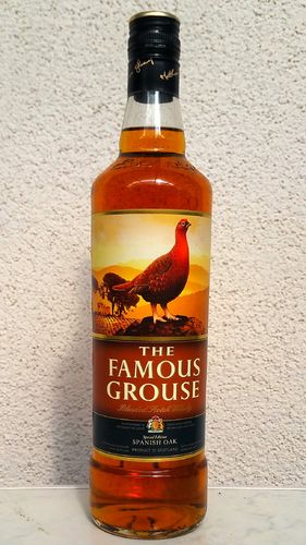 "Famous Grouse ""Spanish Oak"" 40% 0,7ltr"
